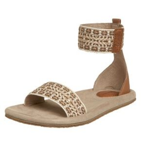 Teva Anna Boho Taupe Ankle Strap Gladiator Sandals
